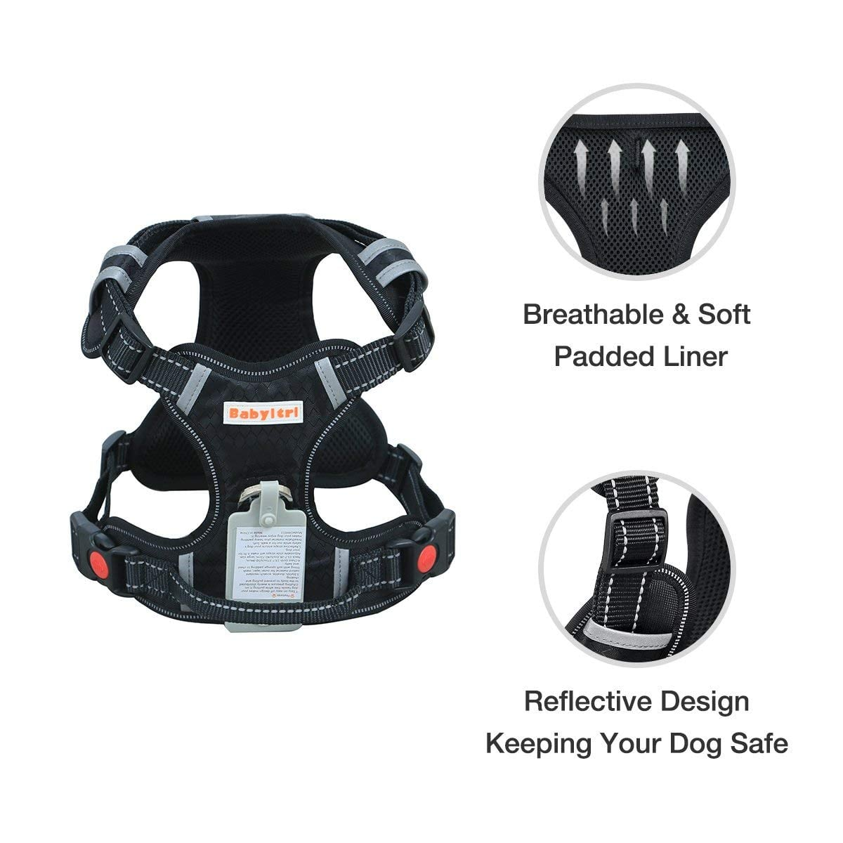 Babyltrl Big Dog Pulling Harness Review by www.puppyurl.com