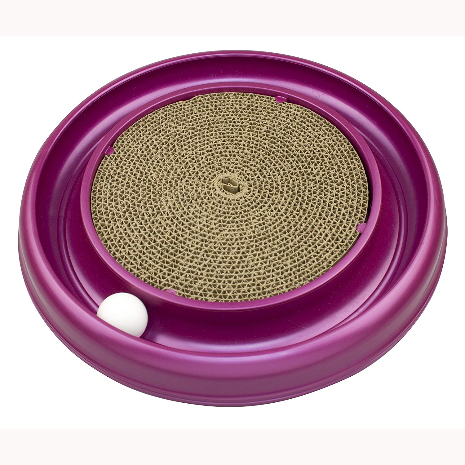 Bergan Turbo Scratcher Cat Toys for Indoor Cats Review by www.puppyurl.com
