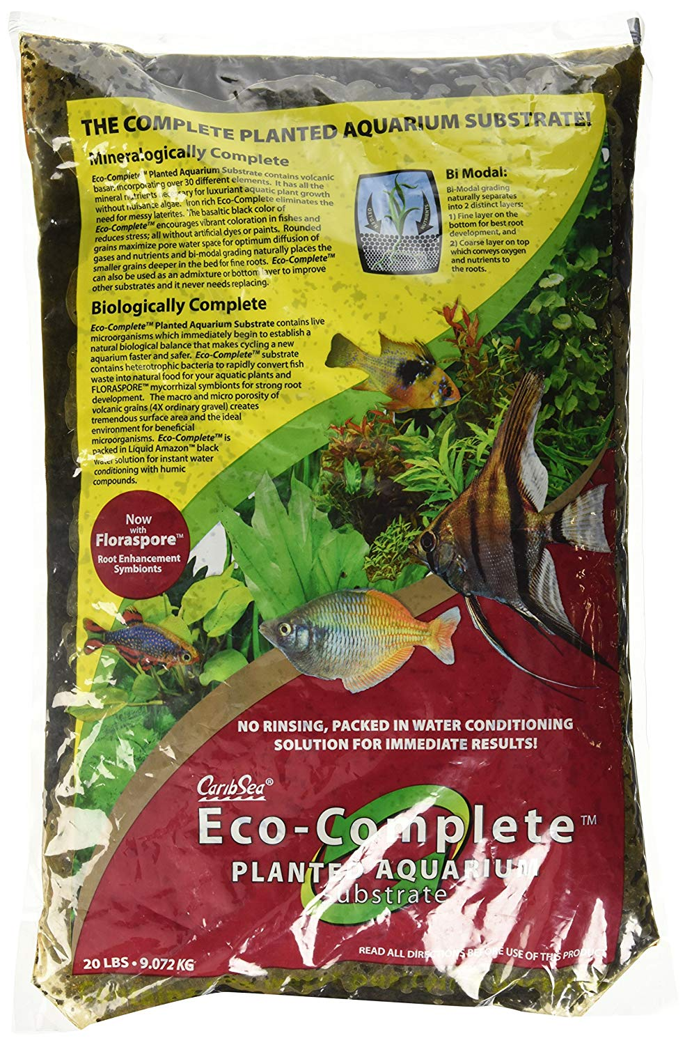 Carib Sea Eco Complete Planted Aquarium Substrate Review by www.puppyurl.com