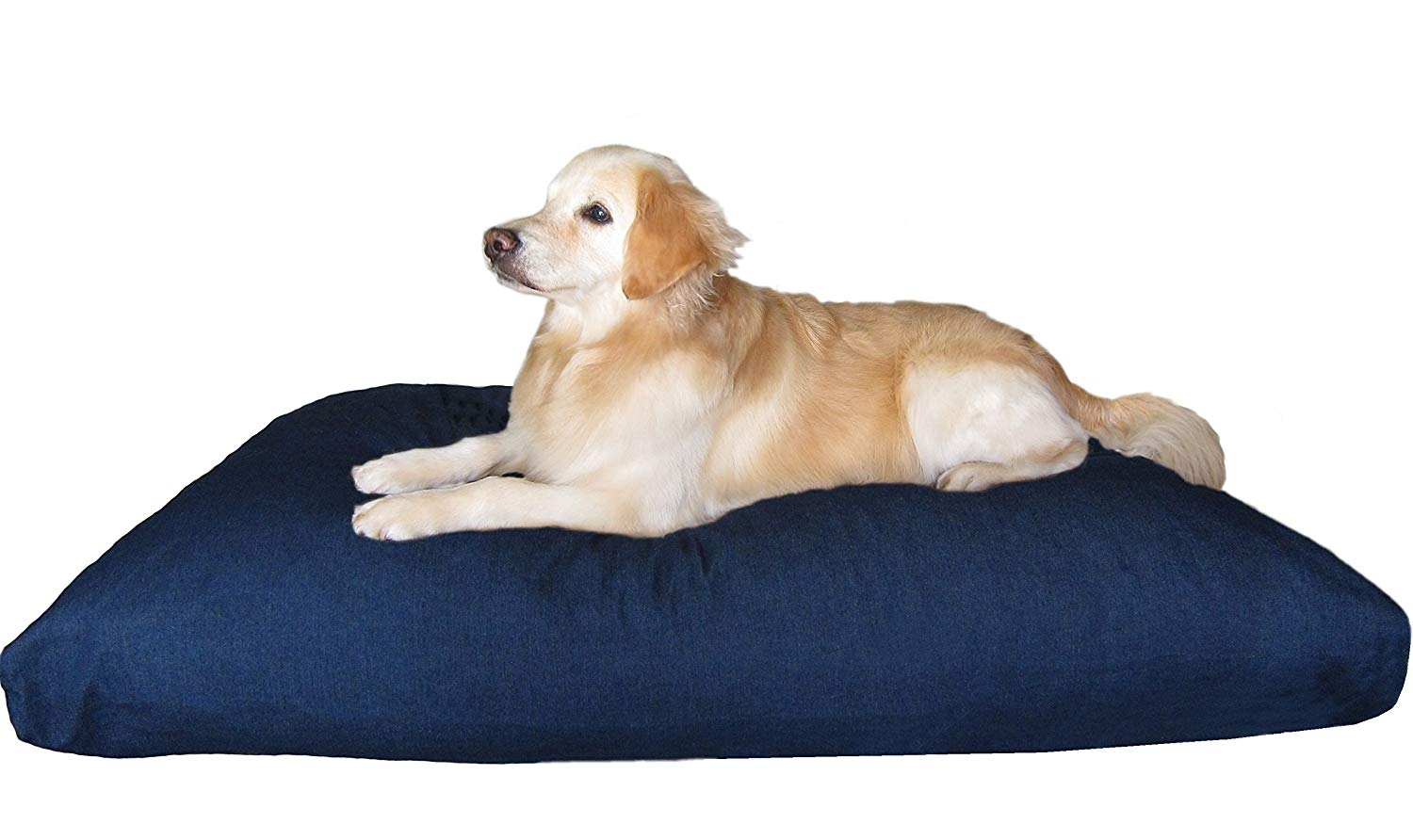Dogbed4less XXL Extra Large Indestructible Memory Foam Pet Bed Pillow review by www.puppyurl.com