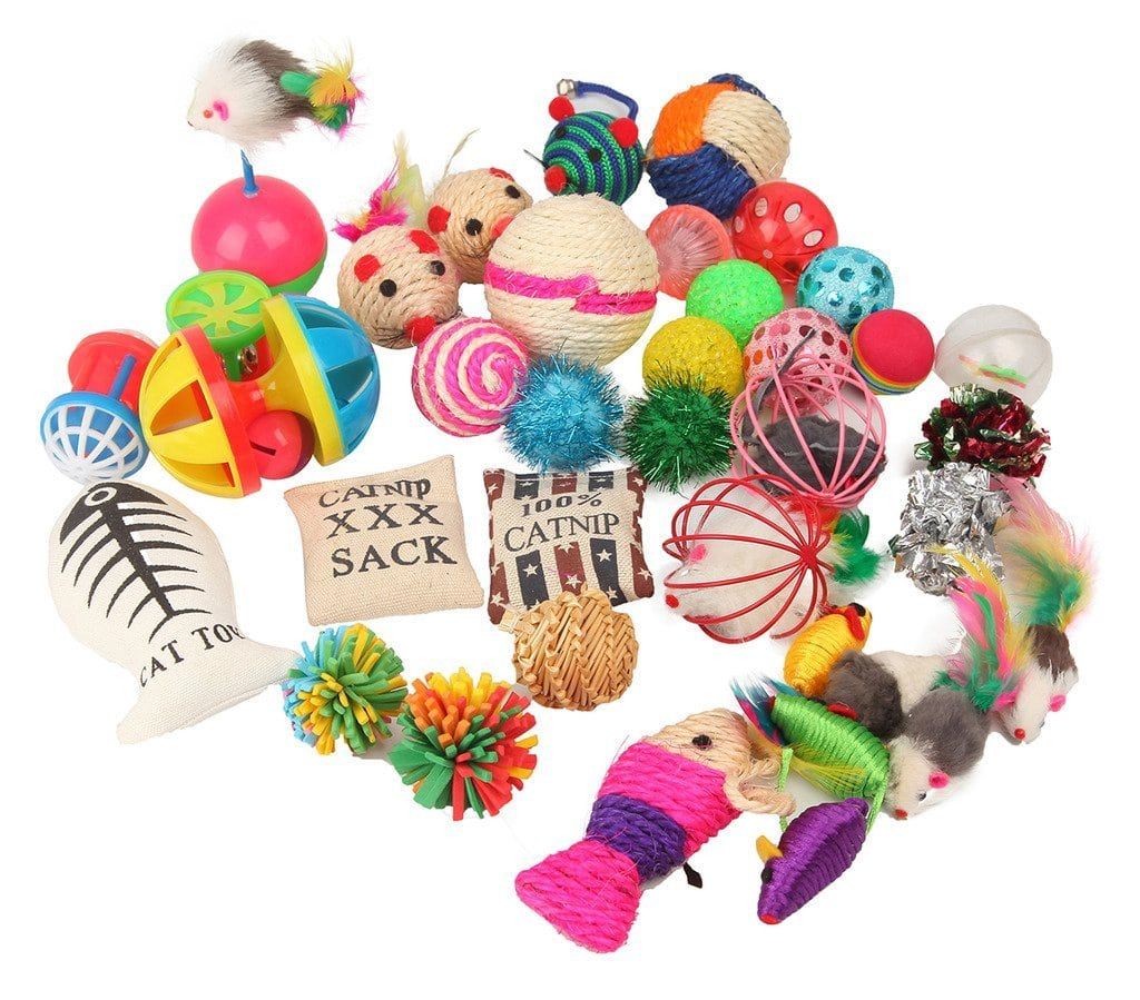 Fashion's Talk Cat toys for Indoor Cats (20 pieces pack) Review by www.puppyurl.com