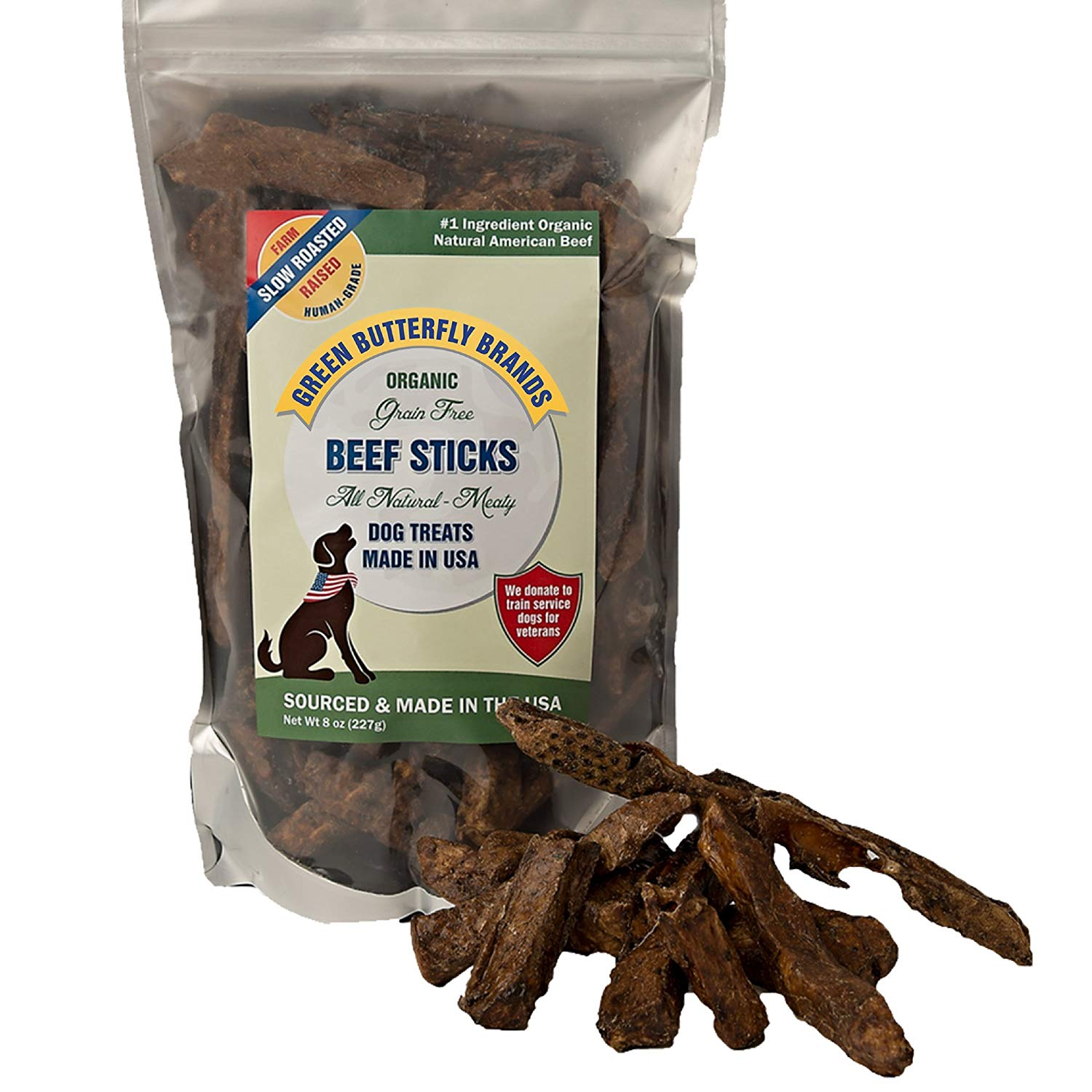 Green Butterfly Brands Organic Grain Free Dog Treats Reviews by www.puppyurl.com