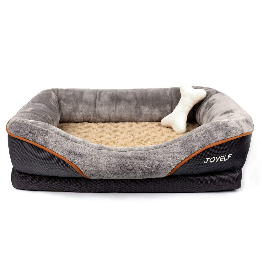 JOYELF Orthopedic Dog Bed Review by www.puppyurl.com