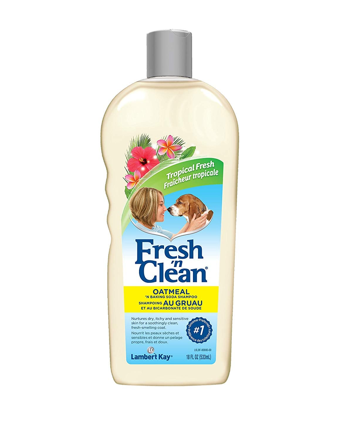 Lambert Kay Fresh 'n Clean Oatmeal 'N Baking Soda Shampoo Review by www.puppyurl.com