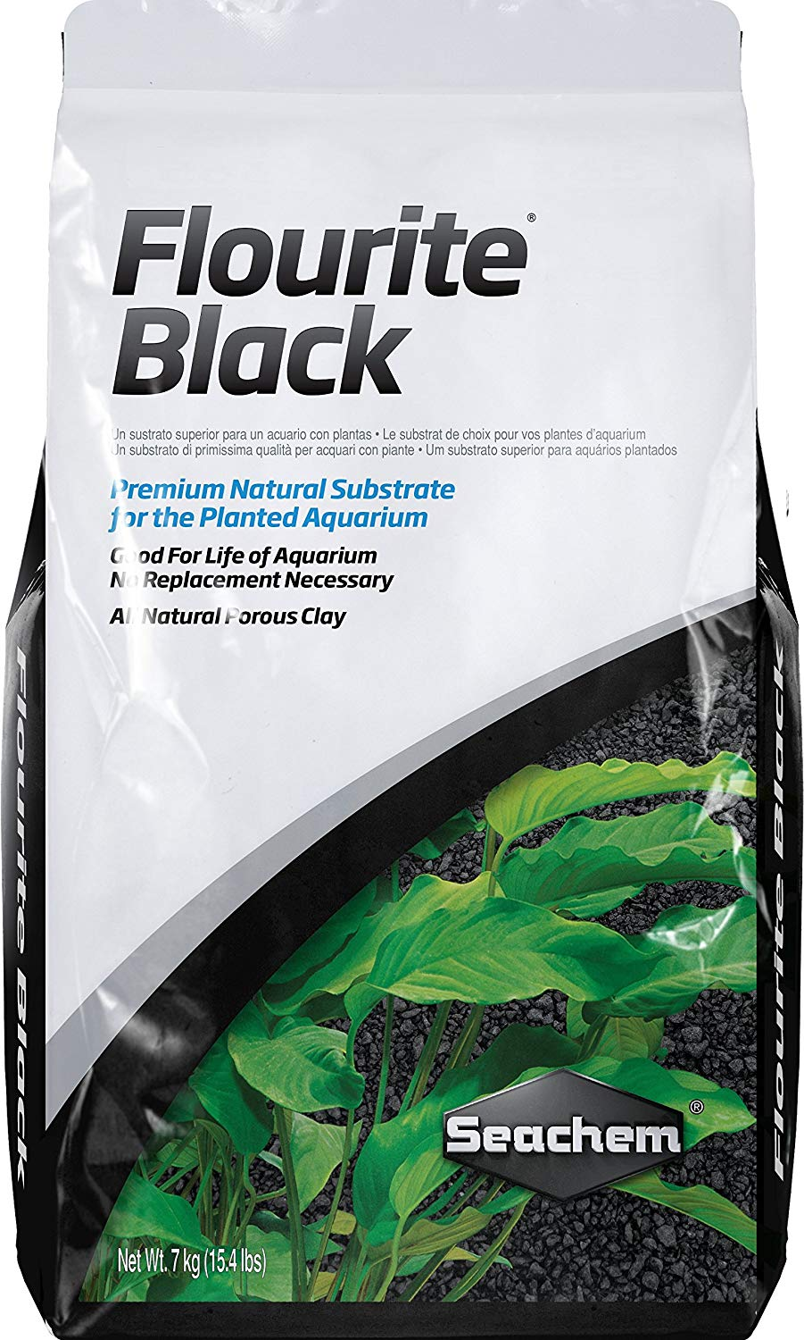 Seachem Flourite Black Planted Aquarium Substrate Review by www.puppyurl.com