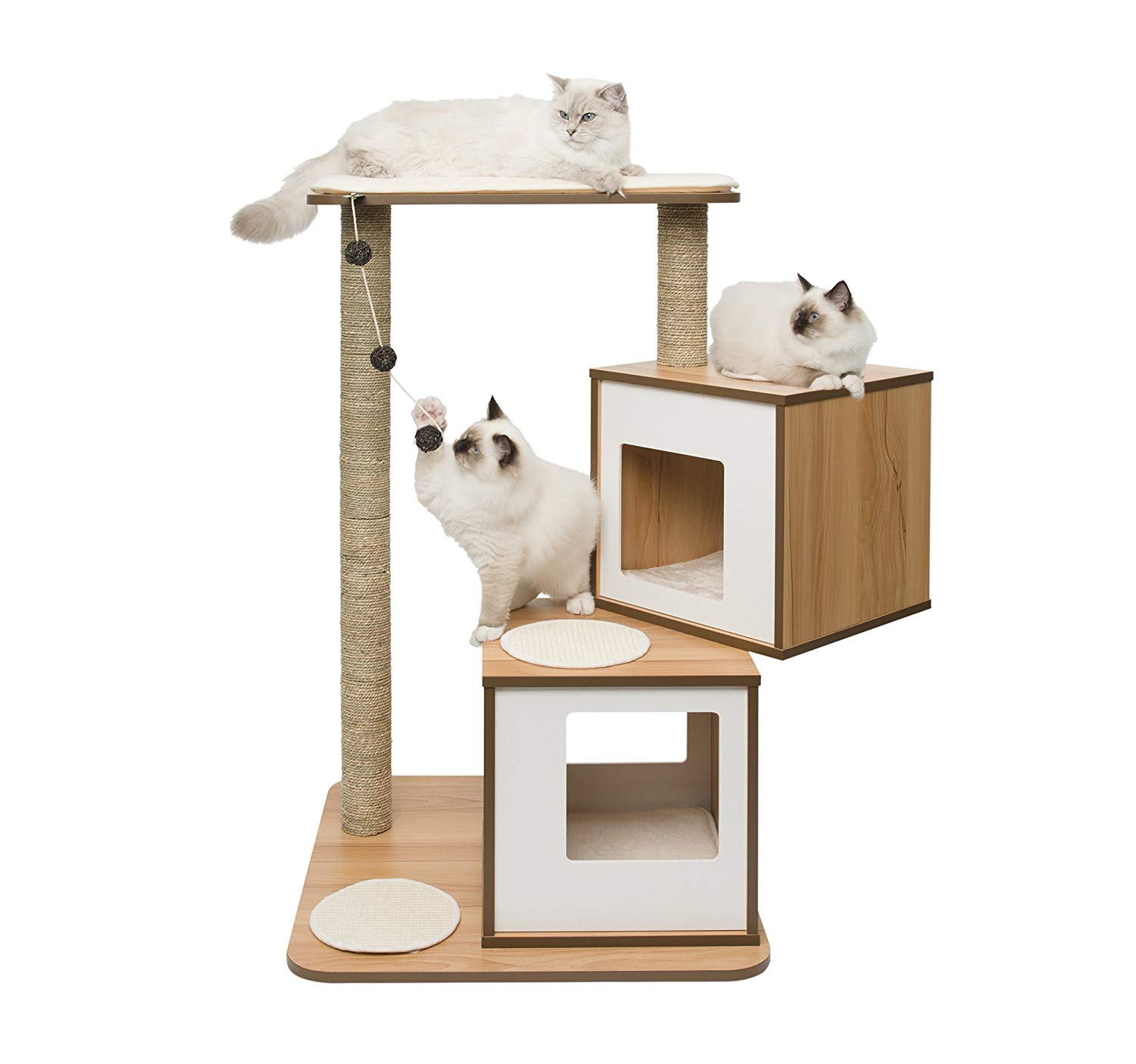 Vesper Cat Furniture for large cats www.puppyurl.com