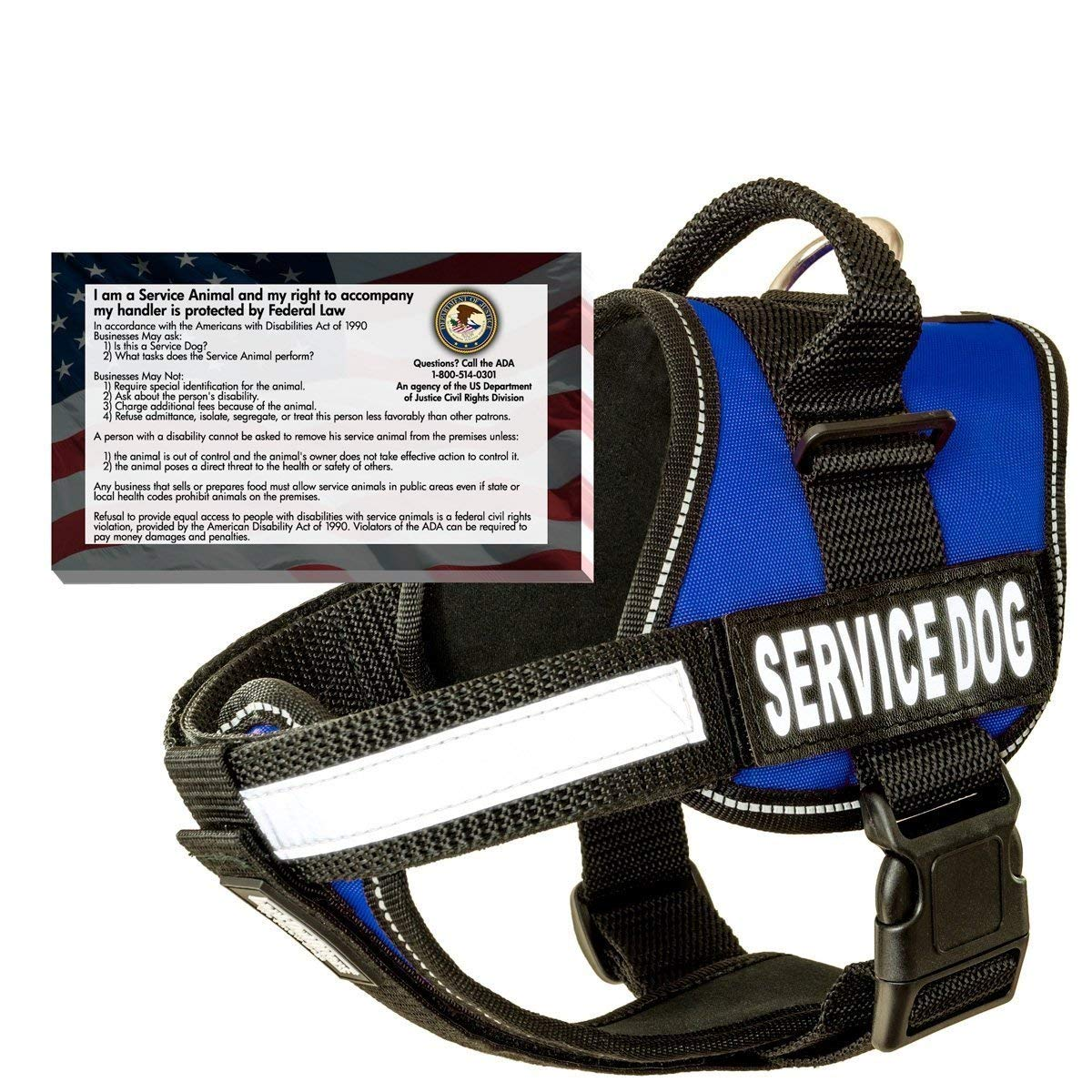 barkOutfitters Real Service Dog Vest Harness Review by www.puppyurl.com