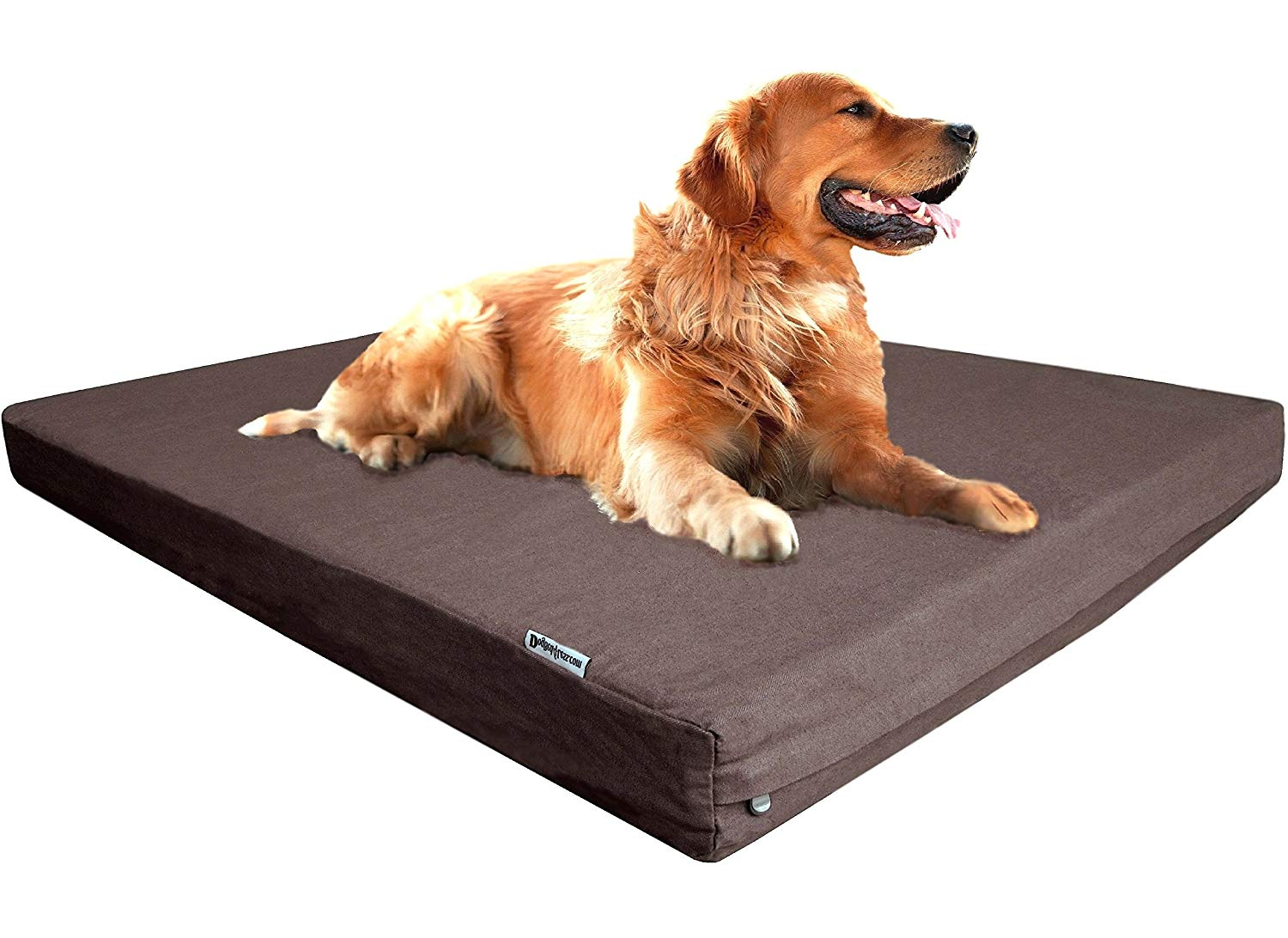 dogbed4less Orthopedic Cooling Memory Foam Dog Bed review by www.puppyurl.com